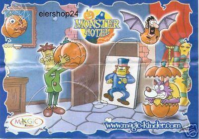 Kompl.-Satz/ Monsterhotel Halloween 2007 (D) + alle BPZ