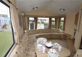 8 berth, 3 bed caravan at Haven park, Reighton Sands.