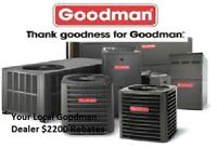 Furnace & humidifier SALE - $2200 Rebates - Rent to Own $35