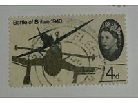 Collect Great Britain Stamps. 25th Anniversary of Battle of Britain Stamp 4d Stamp. Buy Now