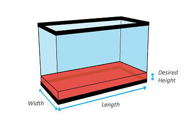 Volume of a aquarium how to calculate the amount of for Fish tank size calculator