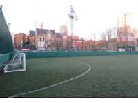 Decent-quality football players wanted for 5-a-side near Old Street Mondays 8.25pm