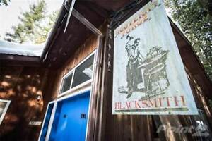 BC Family owned, Artist-Blacksmith business and property