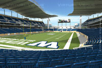 2+ Lower Bowl Tickets for Winnipeg Blue Bombers Oct. 24th