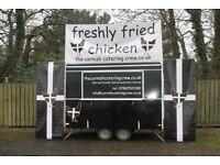 burger van / food truck/ catering trailer