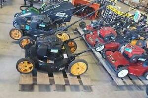 Lawnmowers, Trimmers, and more Power Equipment at Auction