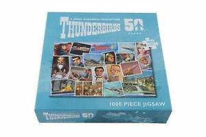 Thunderbirds - 50th Anniversary 1000 Piece Puzzle - NEW & SEALED Gateshead Lake Macquarie Area Preview
