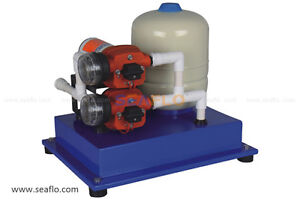 Low volt water pumps and pressure systems off-grid
