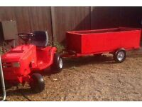 Ride on tractor very good condition with trailer £425 ovno