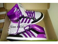 BRAND NEW IN BOX....GENUINE ADIDAS TRAINERS...NOT REPLICA...SIZE ADULT 4...£30