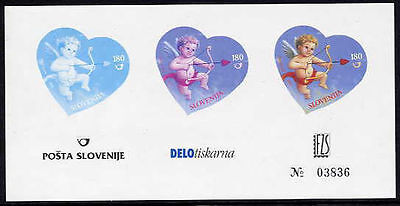 SLOVENIA 2005 Greetings semi-official stage proof block  MNH / **