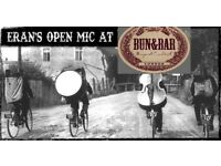 Musicians wanted for an Open Mic-Thu, January 4th 7:30pm at Bun&Bar Haringey