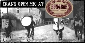 Musicians wanted for an Open Mic-Thu, August 2nd 8:30pm at Bun&Bar Haringey