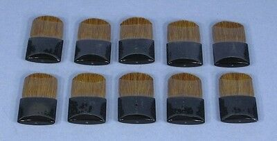 10 SMALL MINI BRUSHES Soft-Bristle for Face Makeup Computer Cleaning Dusting NEW for sale  Shipping to India