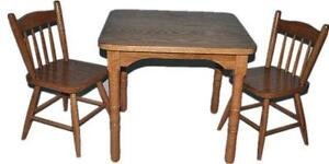 Amish Mennonite Made Kids' Table Sets Deals - FREE SHIPPING