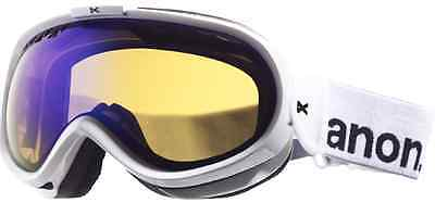 Anon Solace Goggles-painted White-blue Solex Lens-free Us Shipping