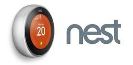 Nest Smart Thermostat installation (Supply and Install) Gas Safe Register Nest