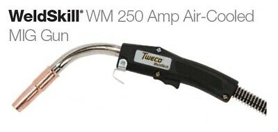 Tweco Mig Gun 15ft 10271057 250a Up To .045 For Euro-kwik Style Back-end