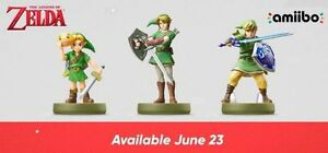 MM Link TP Link SS Link Amiibo Wanted (New Release)
