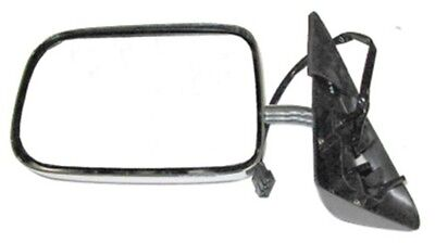 Chrome Power Replacement Side View Mirror Lh / For 1987-96 Dakota