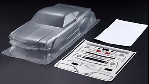 1/10 RC Car PC Clear Body Shell 200mm 66 Ford Mustang fits Tamiya HPI