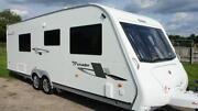 Elddis Caravan Fixed Bed