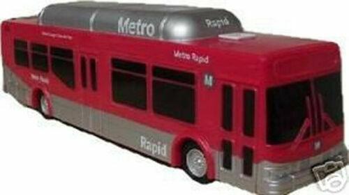 1/50 Scale NABI Transit Bus Los Angeles Metro Rapid model bus LA Metro bus New!