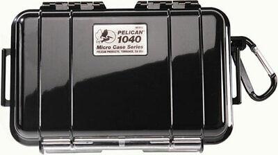 Pelican 1040 Micro Case (Solid Black) Pelican Black Micro Case