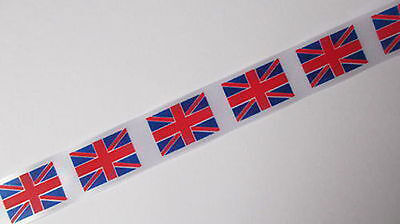 Union Jack cake ribbon Jubilee Olympics Great Britain Ribbon  - Fast delivery
