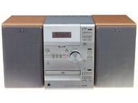 Sony CMT-CP1 Executive Microsystem Radio Cassette Player and CD Player with Remote Control