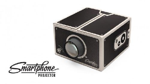 Smartphone Projector Portable Cinema For Your Cell Phone By Luckies