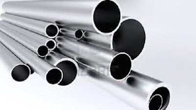 Aluminum Round Tube 1.5 Diam. X .049 Wall 4 Pcs X 35 6061 Alloy B