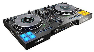 Hercules DJ Control Jogvision, USB DJ controller for Serato with in-jog displays