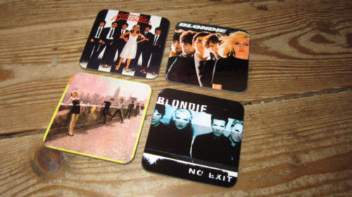 Blondie Debbie Harry Album Cover Drinks Coaster Set #2