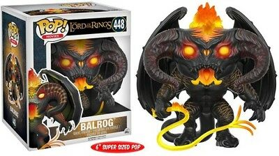 FUNKO POP!: LORD OF THE RINGS/HOBBIT - BALROG 6 [New Toy] Vinyl Figure