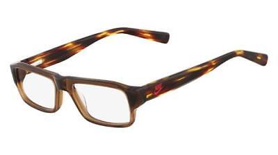 NEW ORIGINAL NIKE 5524 200 Crystal Brown Kids Eyeglasses 48mm 15 130