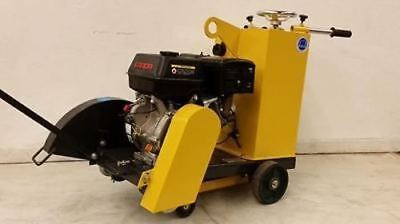 New Bulldog Mfg 16 Walk-behind Concrete Saw 13 Hp Loncin Cement Walkbehind