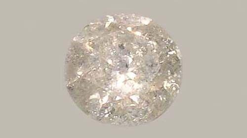 Diamond Siberian ½ct+ Antique 19thC Handcut Medieval Royal Gem Fearless Virtue