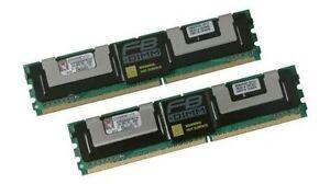 Paquet de 32 Barrettes de kingston DDR2 ECC 8 Go chacune