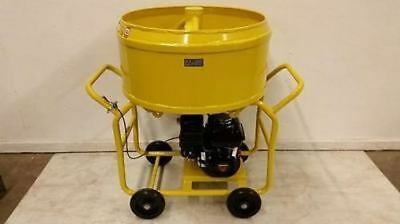 Bulldog Mfg. Mortar Mixer Grout Plaster Stucco Honda Gx160 3.5 Cf 26.5 Gallons