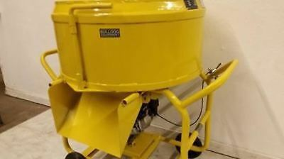 Bulldog Mfg. Mortar Mixer Grout Plaster Stucco Electric 3.5 Cf 26.5 Gallons