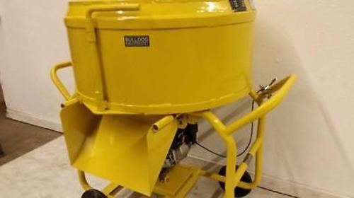 BullDog Mfg. Mortar Mixer Grout, Plaster Stucco Electric 3.5 CF 26.5 Gallons