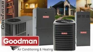 NEW HIGH EFFICIENCY FURNACES, AIR CONDITIONERS LOW PRICES+REBATE