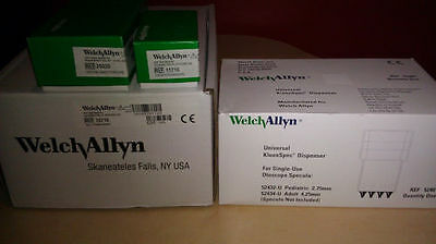 Welch Allyn 767 Transformer 11710 Opthalmoscope20520 Otoscope And Specula Disp