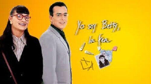 COLOMBIA ,TELENOVELA,YO SOY BETTY LA FEA+Ecomoda(38 DVDS)AÑO 1999