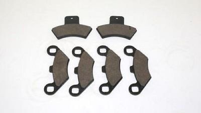 2002 Polaris 250 Trail Blazer Front & Rear Brake Pads Brakes Free Shipping