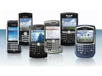 BlackBerry low end keypad phones, unlock, uk spec