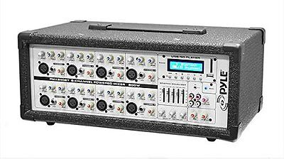 - NEW (1) 8 Channel Bluetooth Mixer.PA System Band Amp.Practice Speaker Amplifier