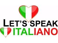 My Italian for your English - skype conversations only