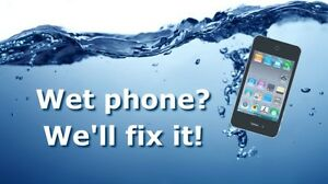 WATER / Liquid DAMAGED Mobile Cellular Phones Repairs Service !